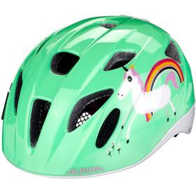 Alpina Ximo Flash Helm Kinder türkis/bunt